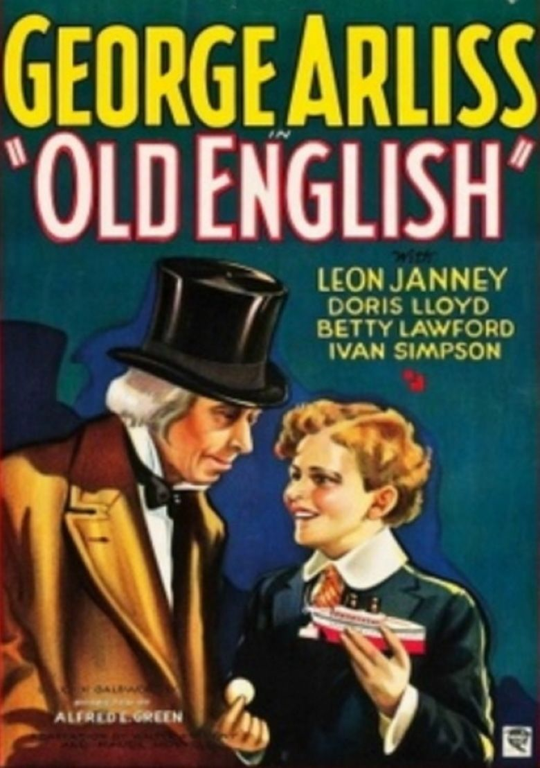 Old English (film) movie poster