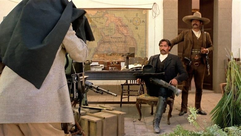 Old Gringo movie scenes