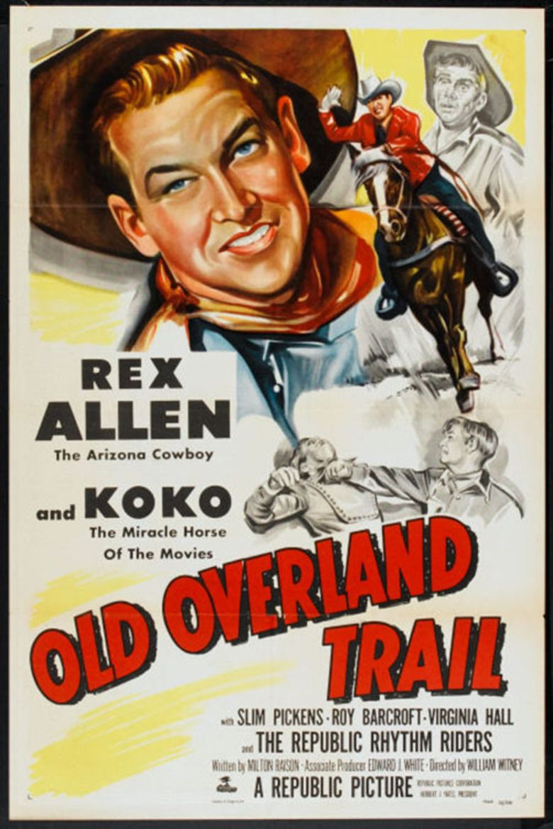 Old Overland Trail movie poster