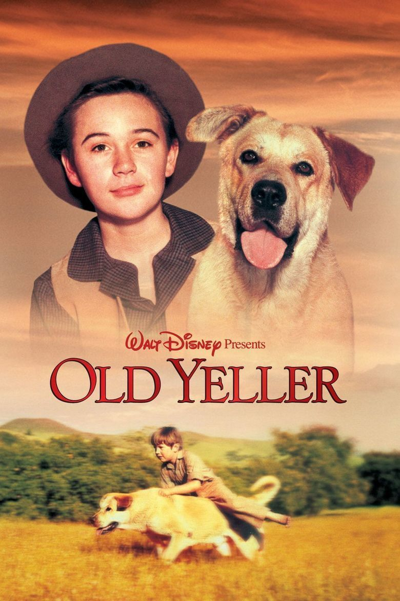 Old Yeller (film) movie poster