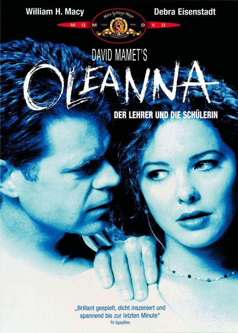 Oleanna (film) movie poster