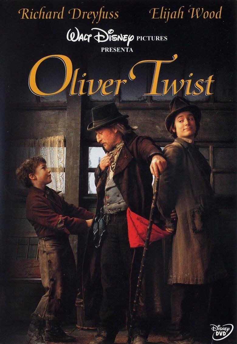 oliver twist film the social encyclopedia based on oliver twist by charles dickens network american broadcasting company cast richard dreyfuss fagin elijah wood the artful dodger david o hara