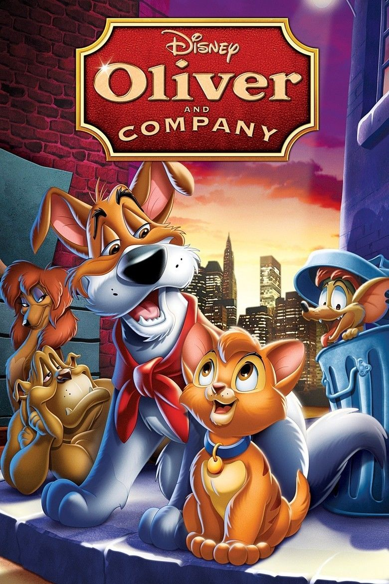 Oliver and Company movie poster