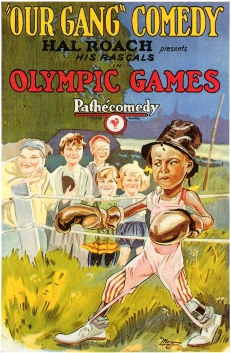 Olympic Games (film) movie poster