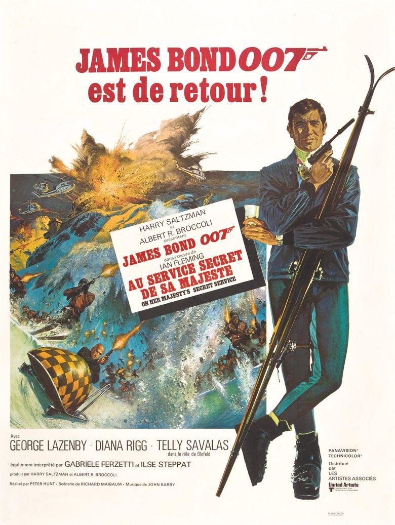On Her Majestys Secret Service (film) movie poster