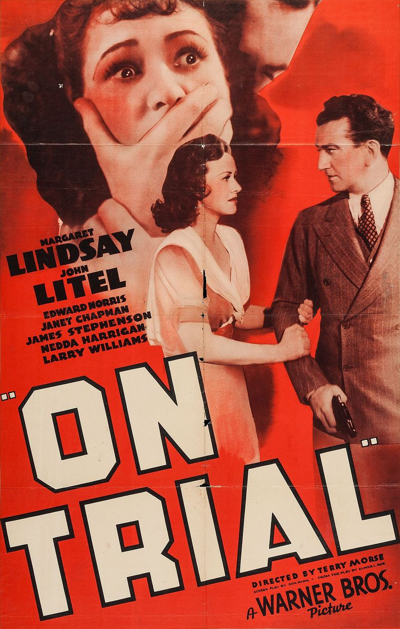 On Trial (1939 film) movie poster