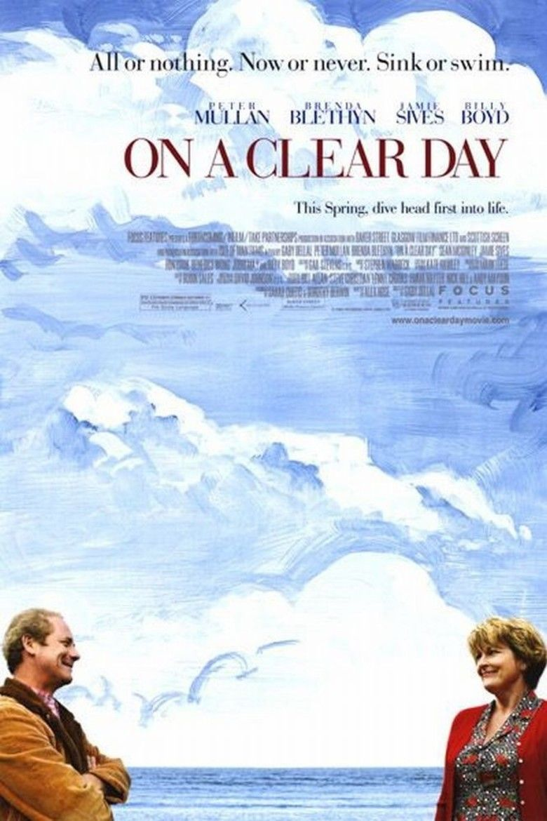 On a Clear Day (film) movie poster