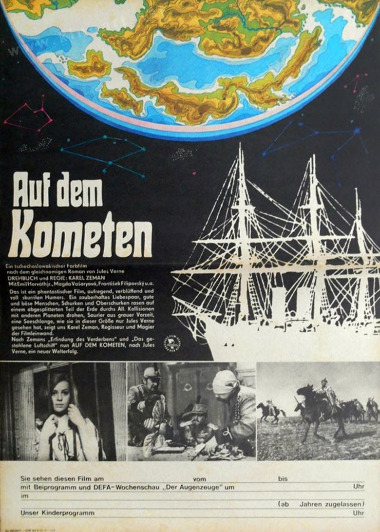 On the Comet movie poster