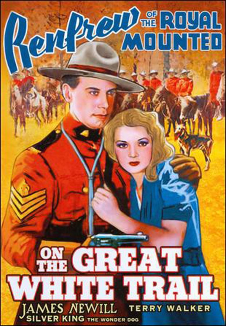 On the Great White Trail movie poster