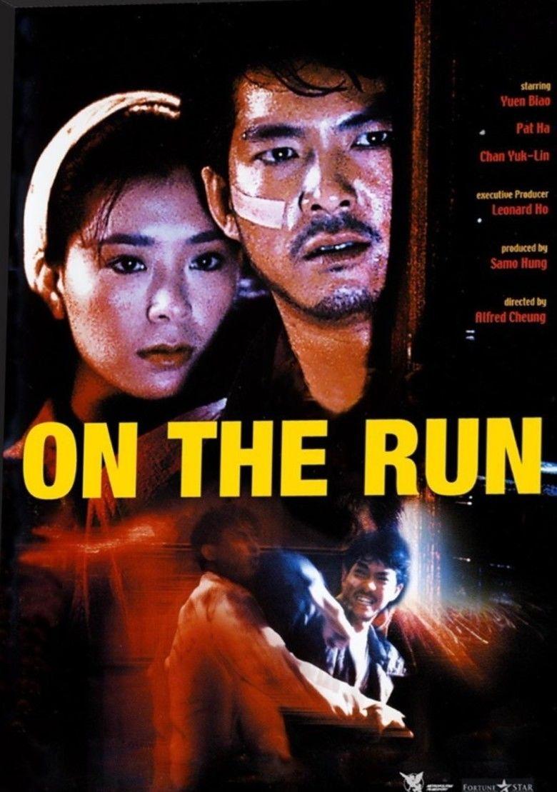 On the Run (1988 film) movie poster