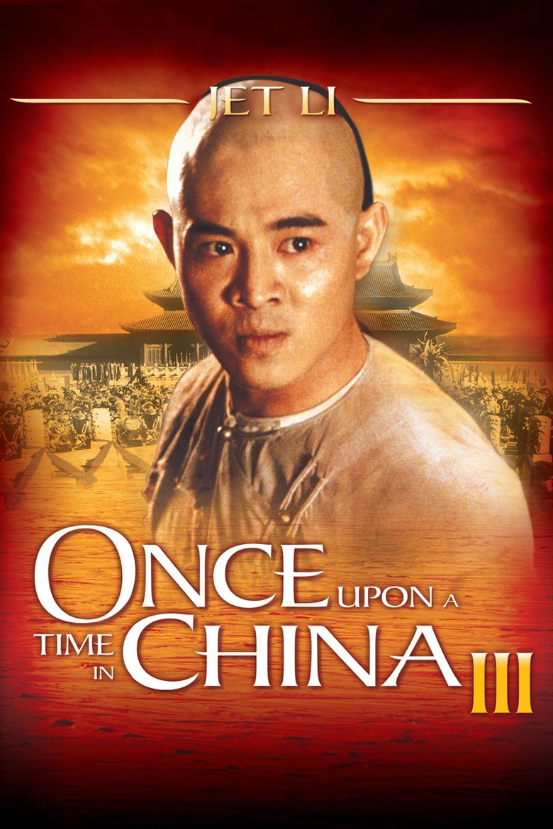 Once Upon a Time in China III movie poster