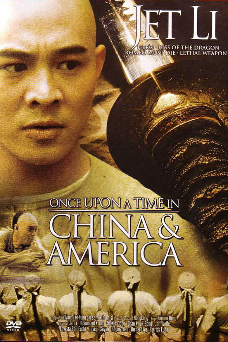 Once Upon a Time in China and America movie poster