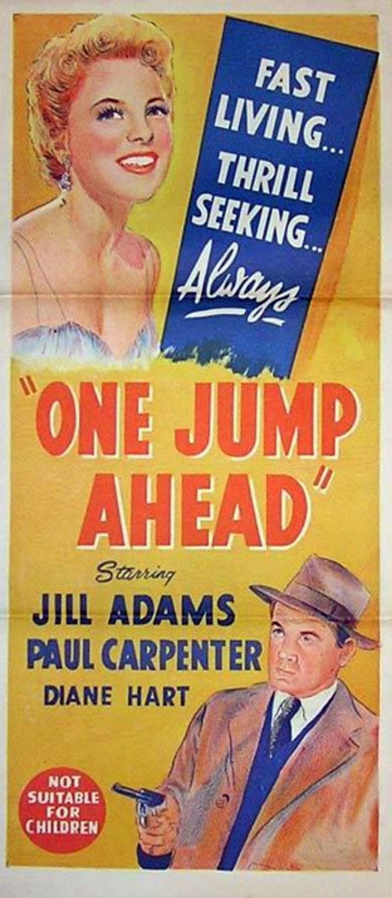 One Jump Ahead (film) movie poster
