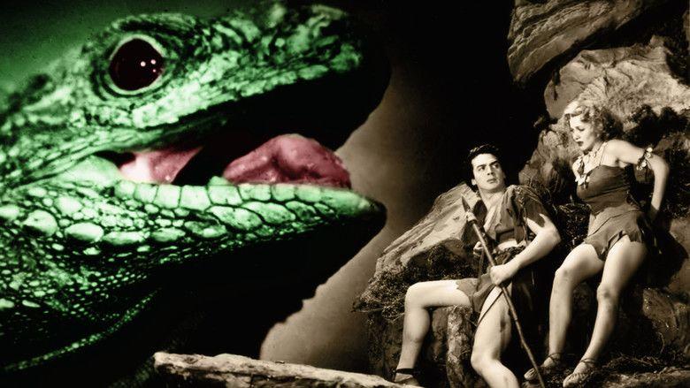 One Million BC movie scenes
