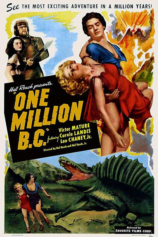 One Million BC movie poster