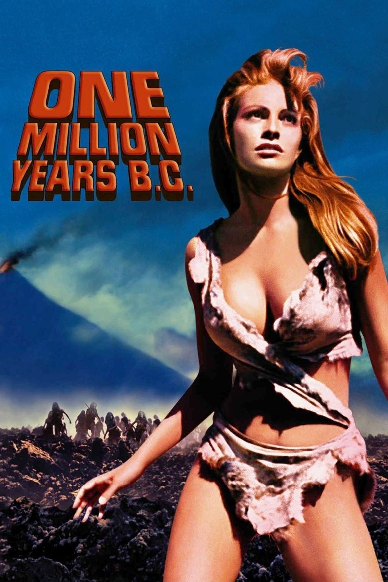 One Million Years BC movie poster