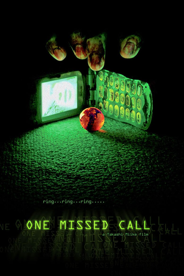 One Missed Call (2003 film) movie poster