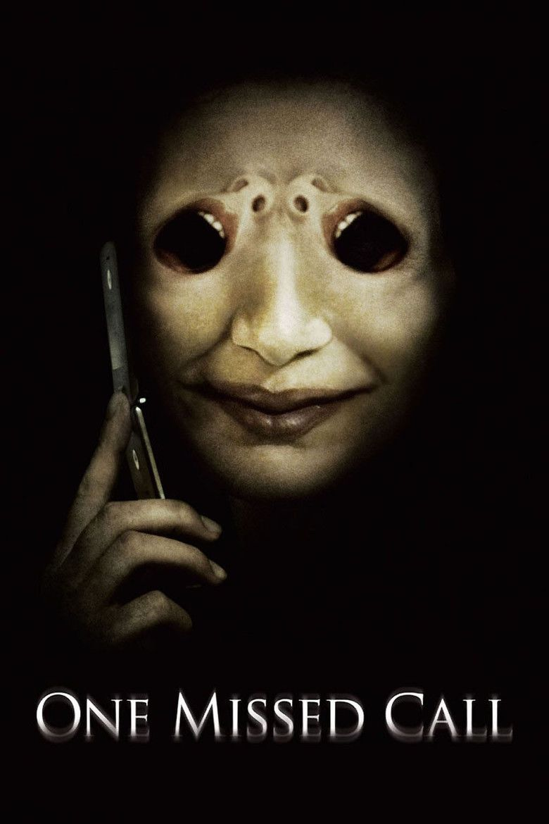 One Missed Call (2008 film) movie poster