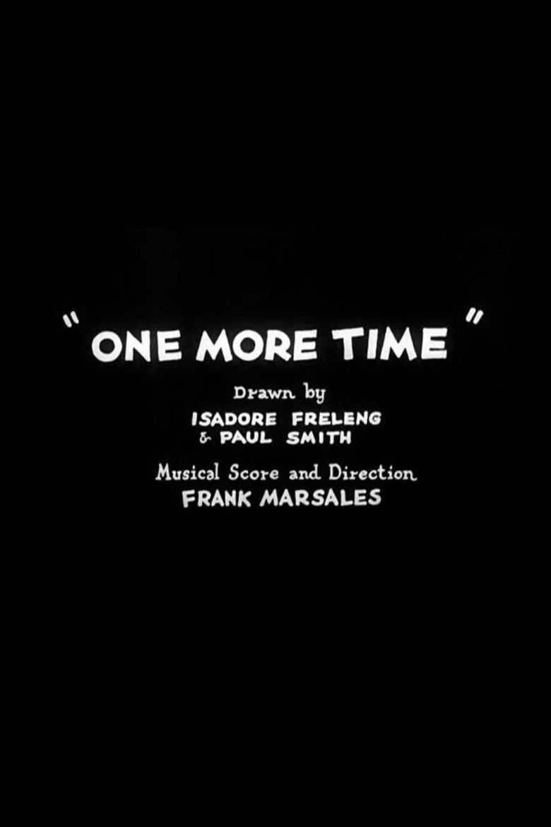 One More Time (1931 film) movie poster