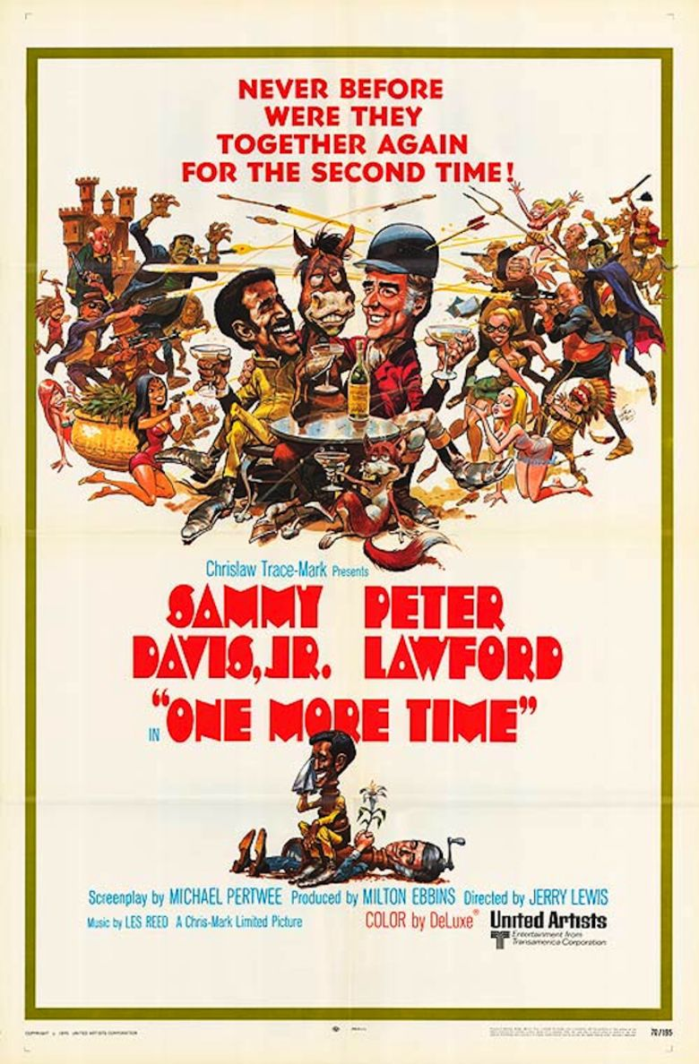 One More Time (1970 film) movie poster