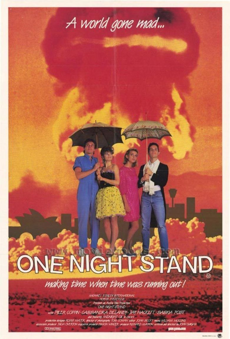 One Night Stand (1984 film) movie poster