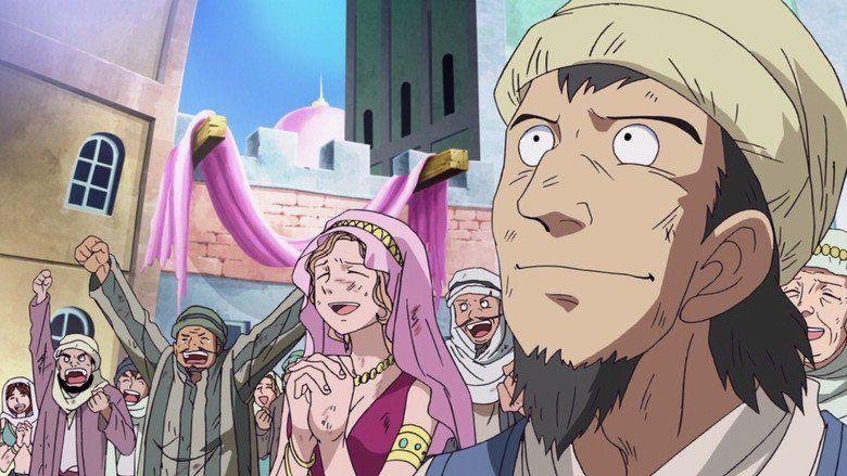One Piece Movie: The Desert Princess and the Pirates: Adventures in Alabasta movie scenes