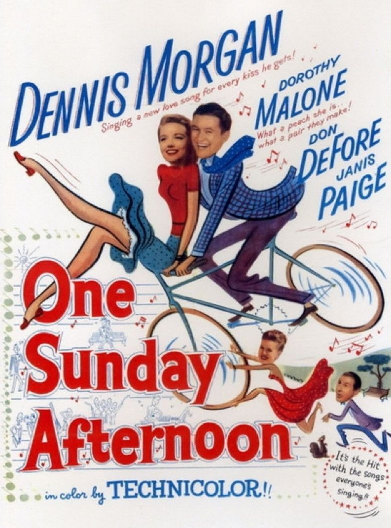 One Sunday Afternoon (1948 film) movie poster