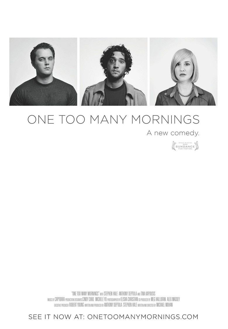 One Too Many Mornings (film) movie poster