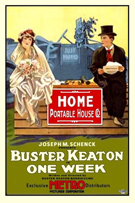 One Week (1920 film) movie poster