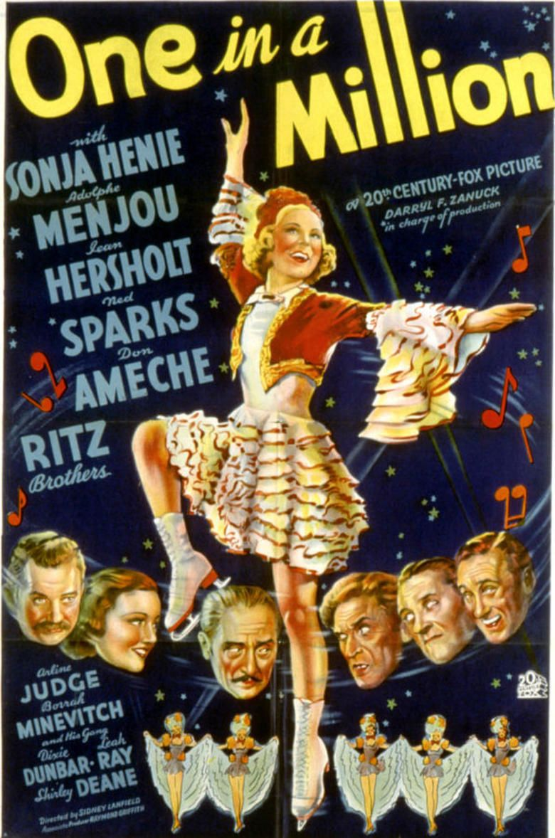 One in a Million (1936 film) movie poster