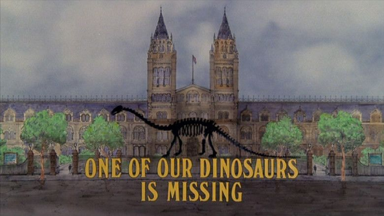 One of Our Dinosaurs Is Missing movie scenes