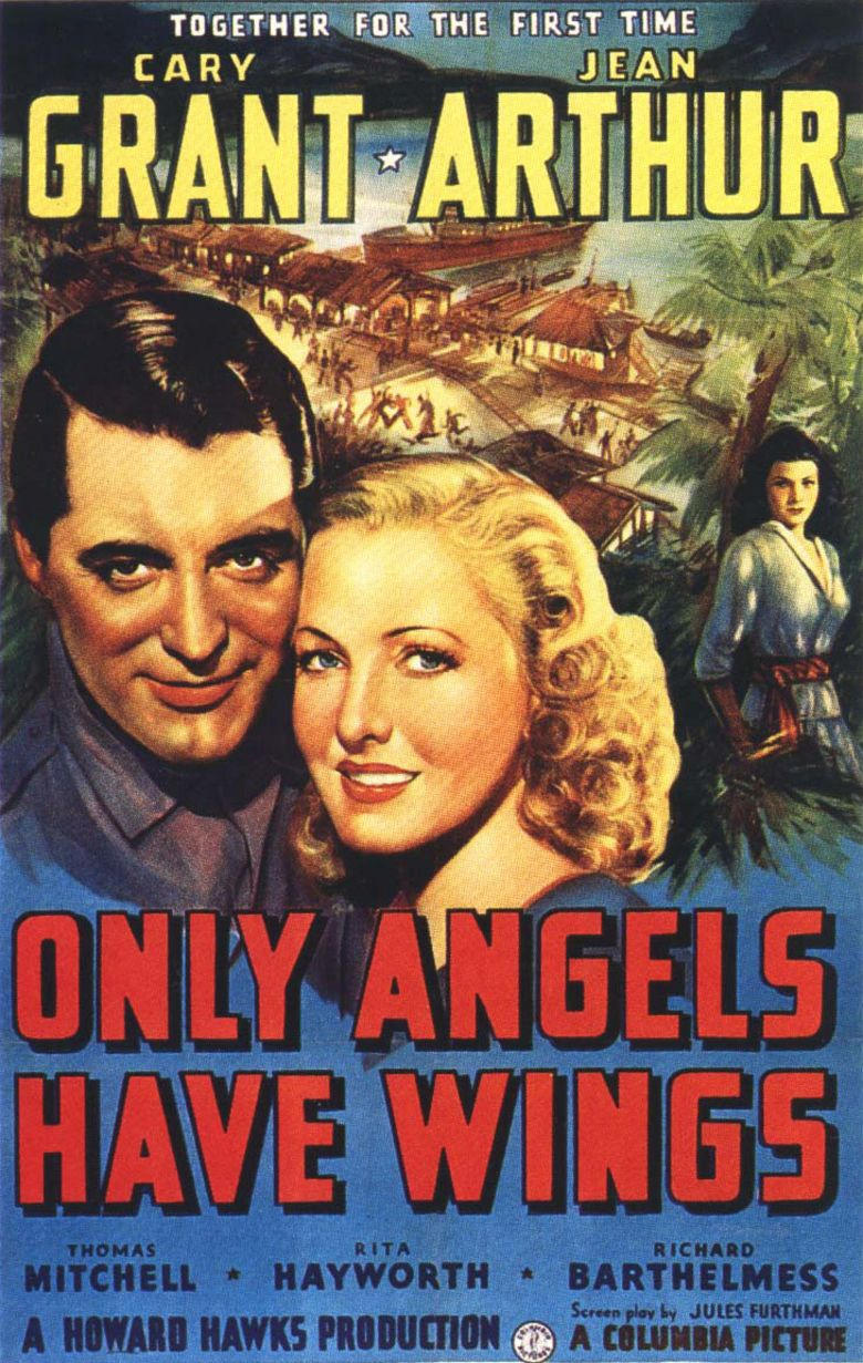 Only Angels Have Wings movie poster