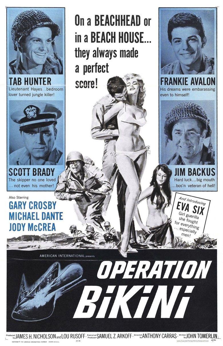 Operation Bikini movie poster