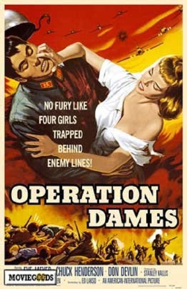 Operation Dames movie poster