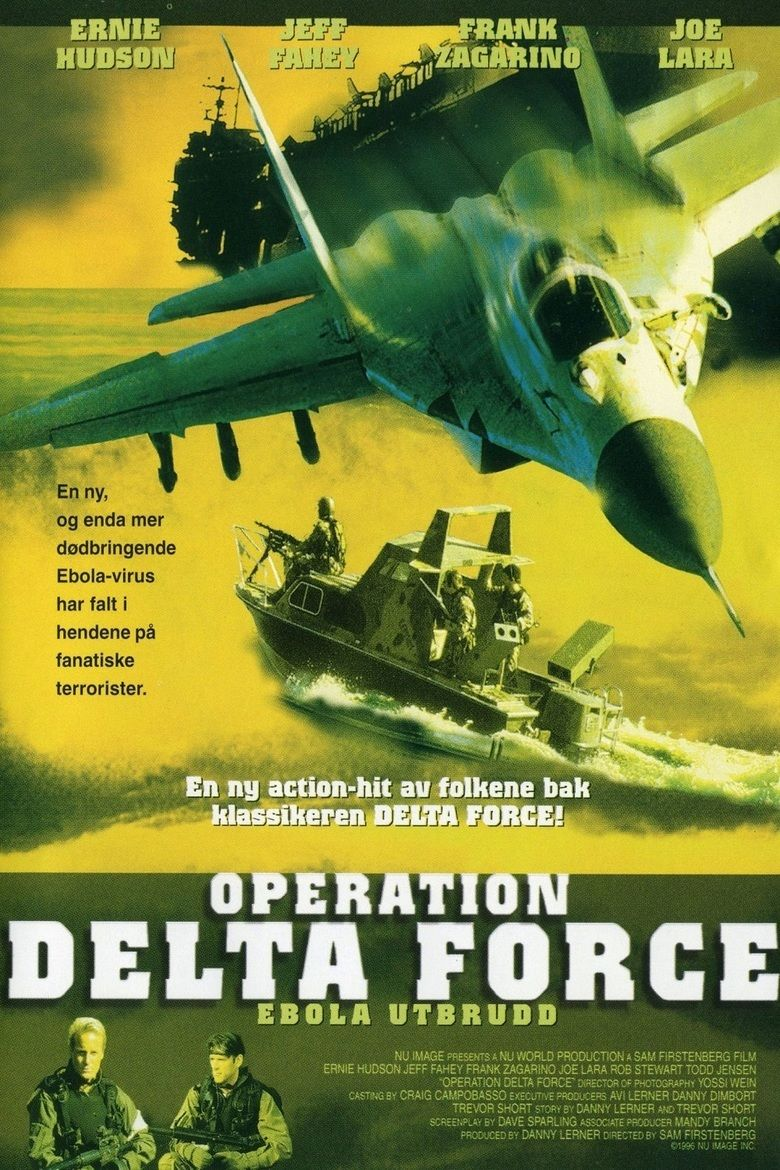 Operation Delta Force movie poster