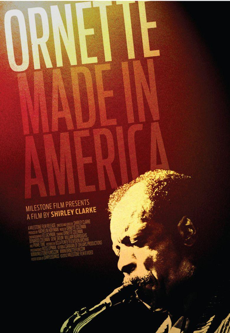Ornette: Made in America movie poster