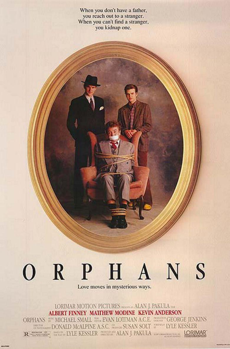 Orphans (1987 film) movie poster