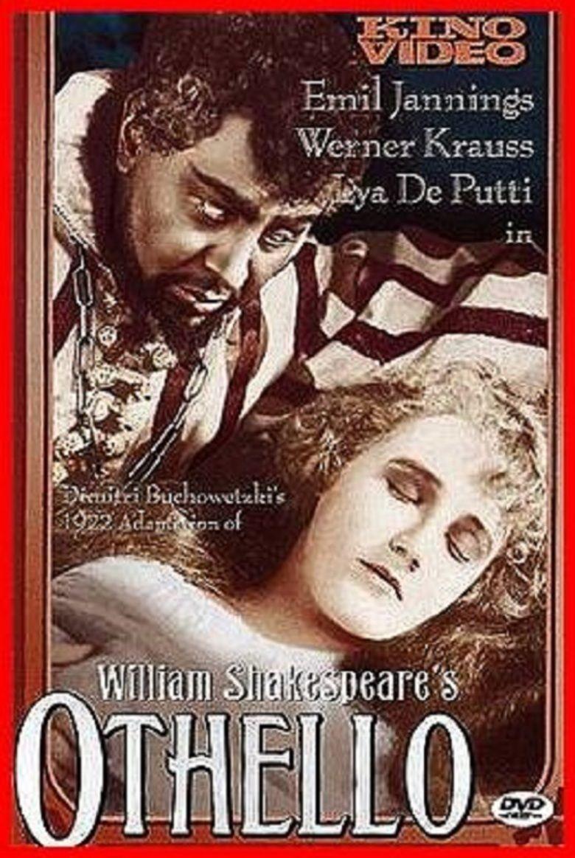 Othello (1922 film) movie poster