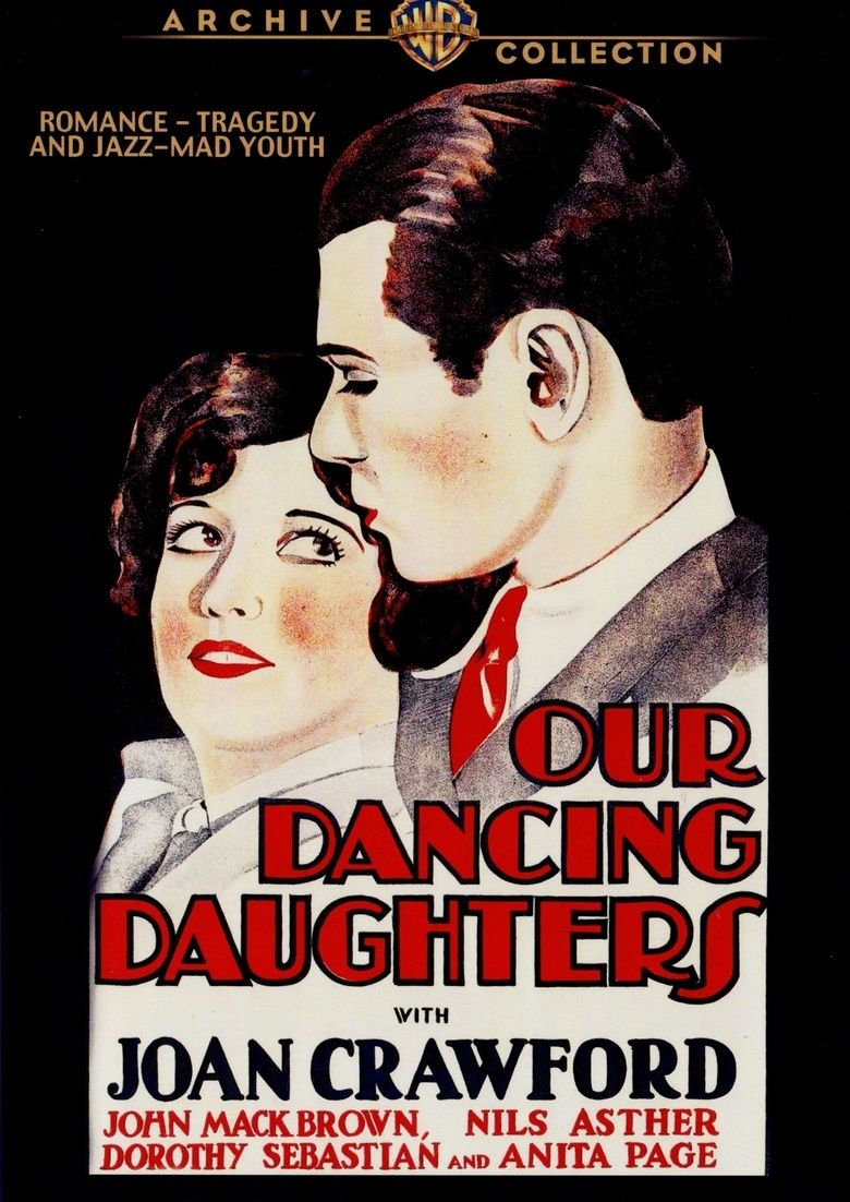 Our Dancing Daughters movie poster