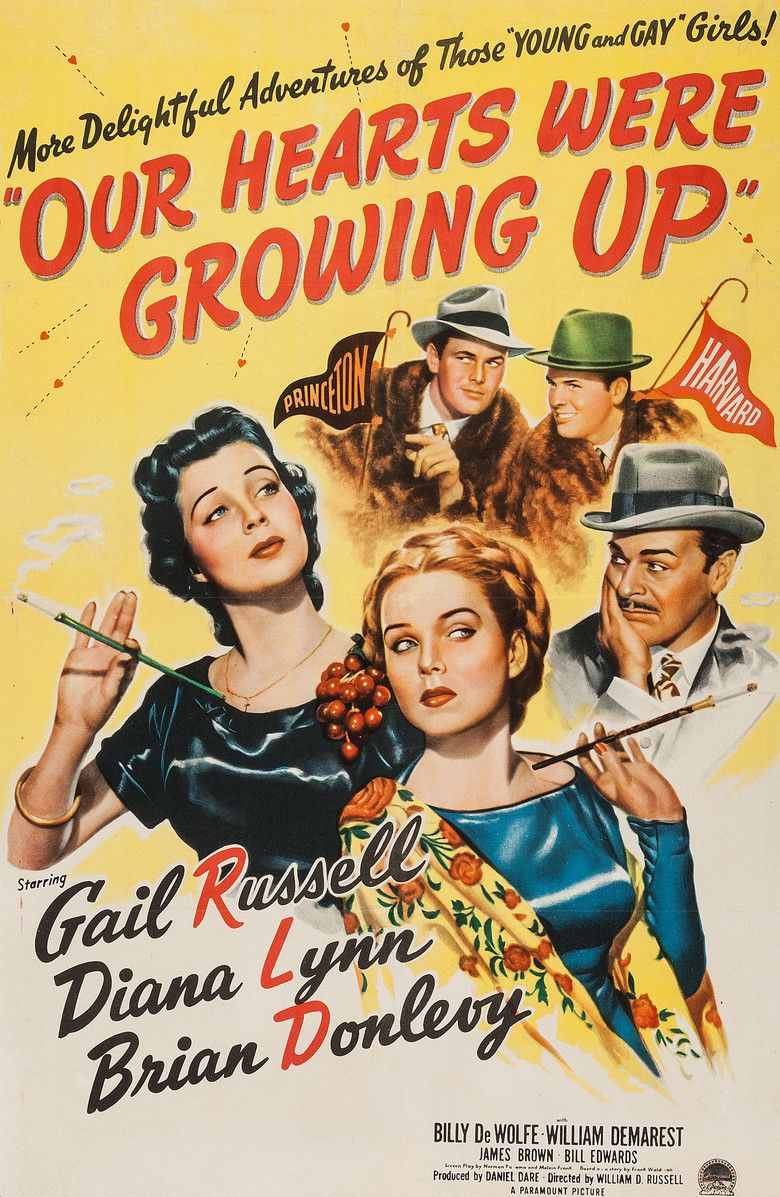 Our Hearts Were Growing Up movie poster