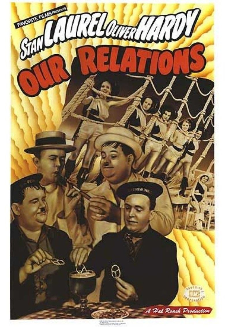 Our Relations movie poster