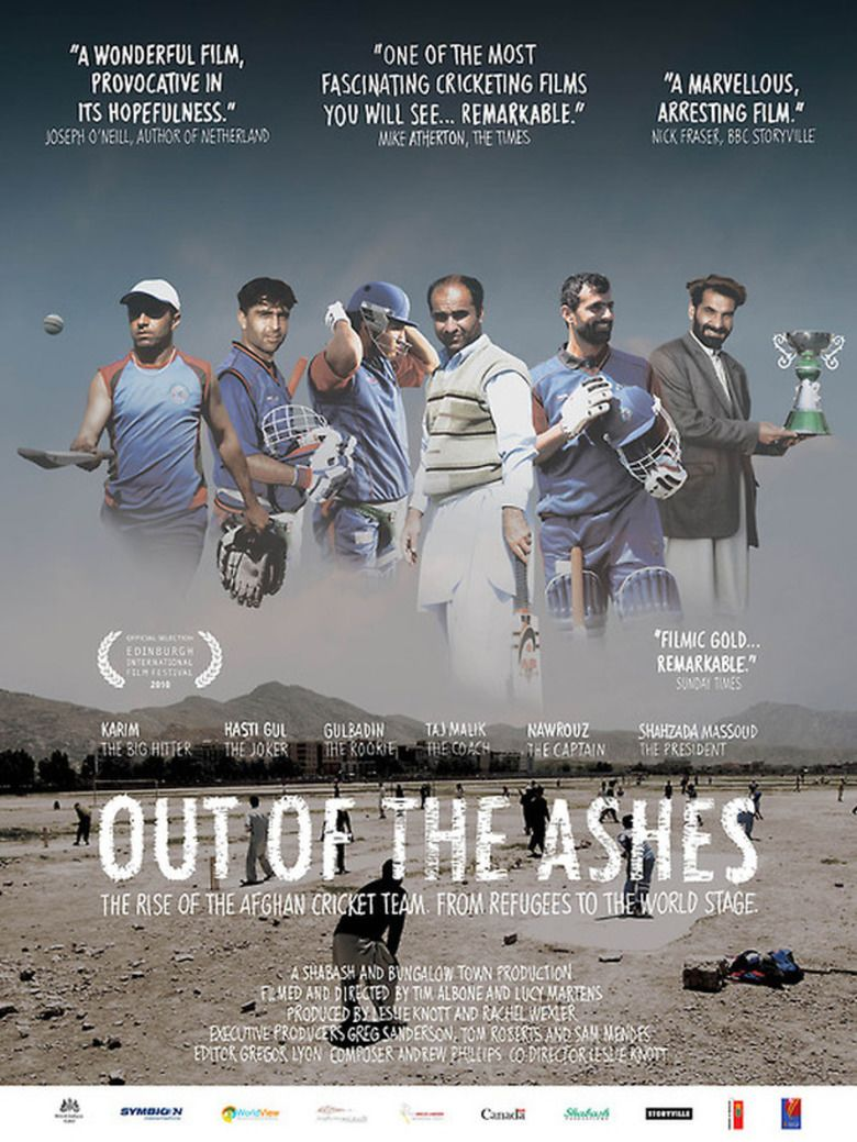 Out of the Ashes (2010 film) movie poster