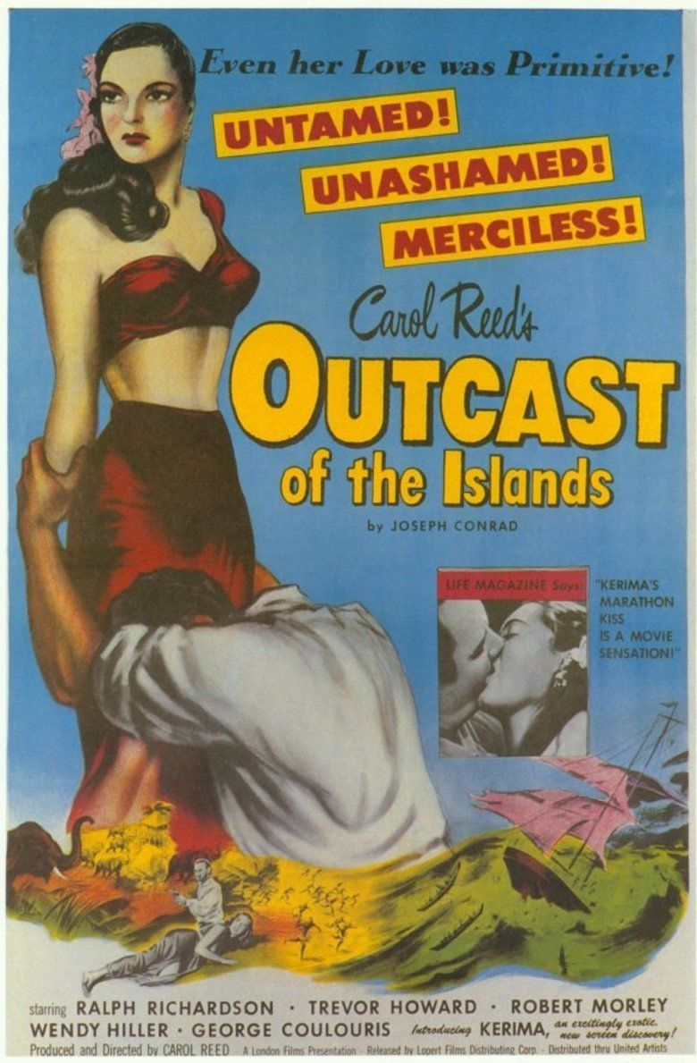 Outcast of the Islands movie poster