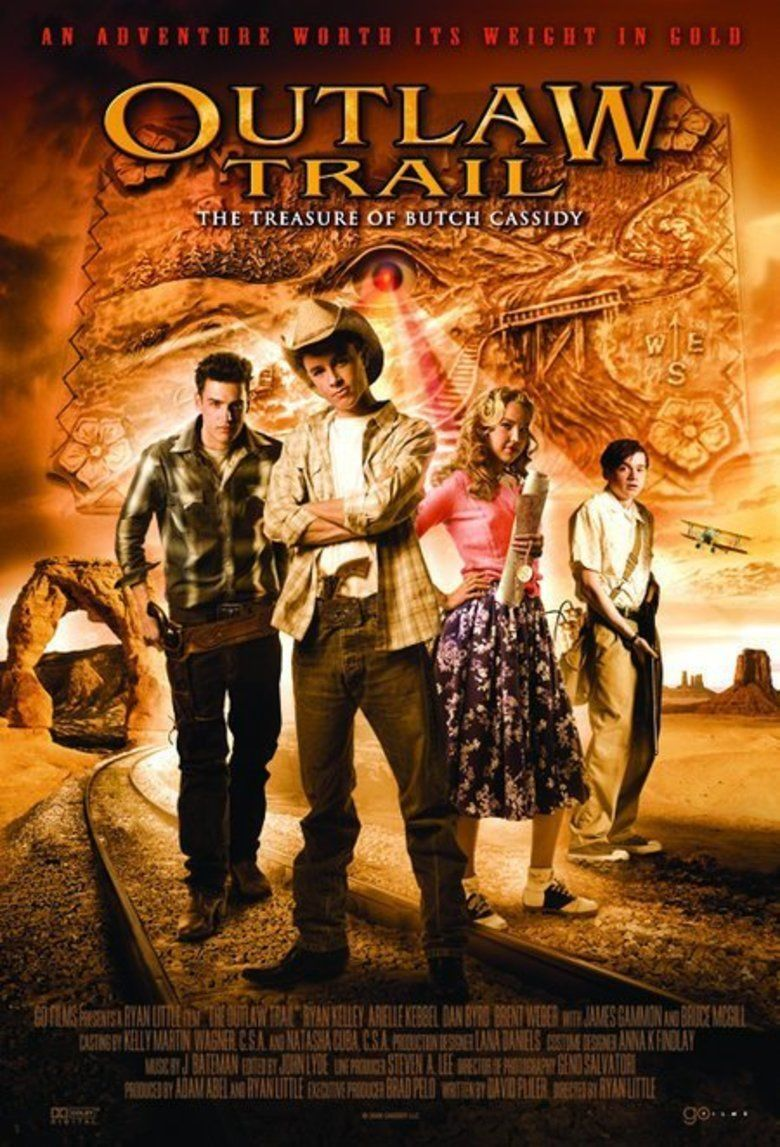 Outlaw Trail: The Treasure of Butch Cassidy movie poster