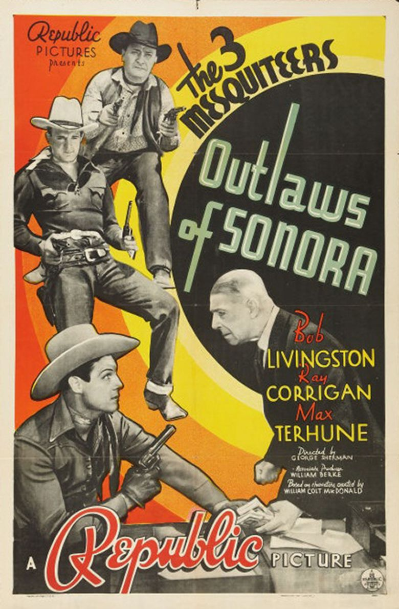 Outlaws of Sonora movie poster