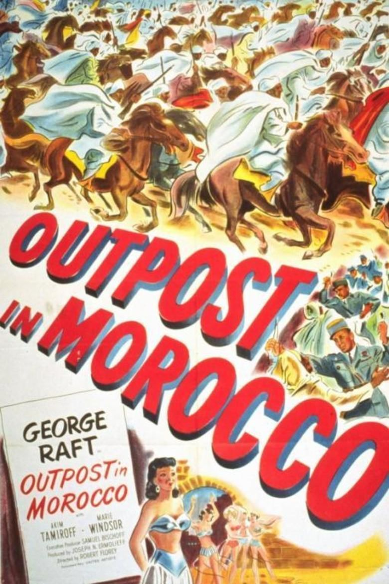 Outpost in Morocco movie poster
