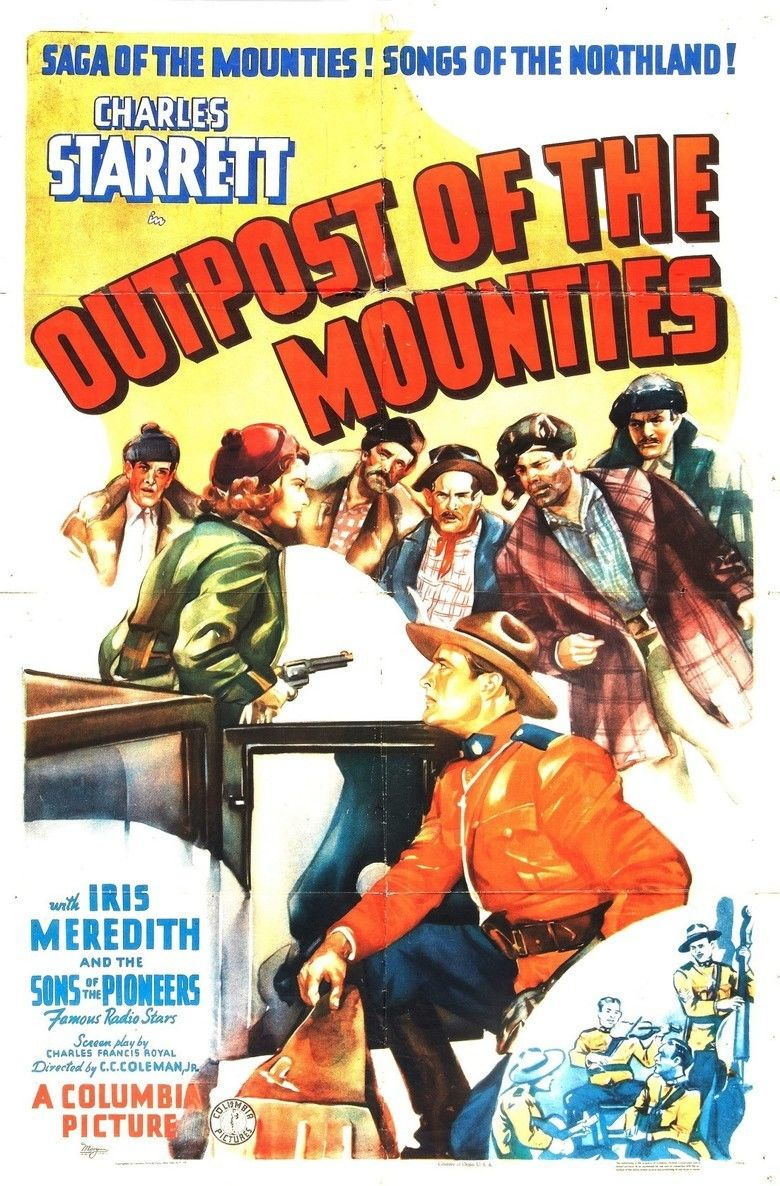 Outpost of the Mounties movie poster