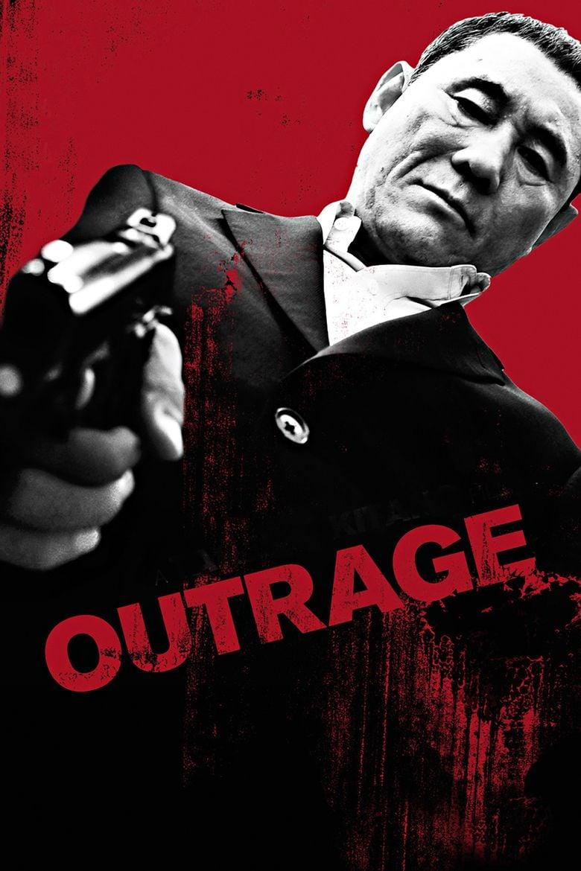 Takeshi Kitano Outrage Japanese Yakuza Action Movie T-shirt