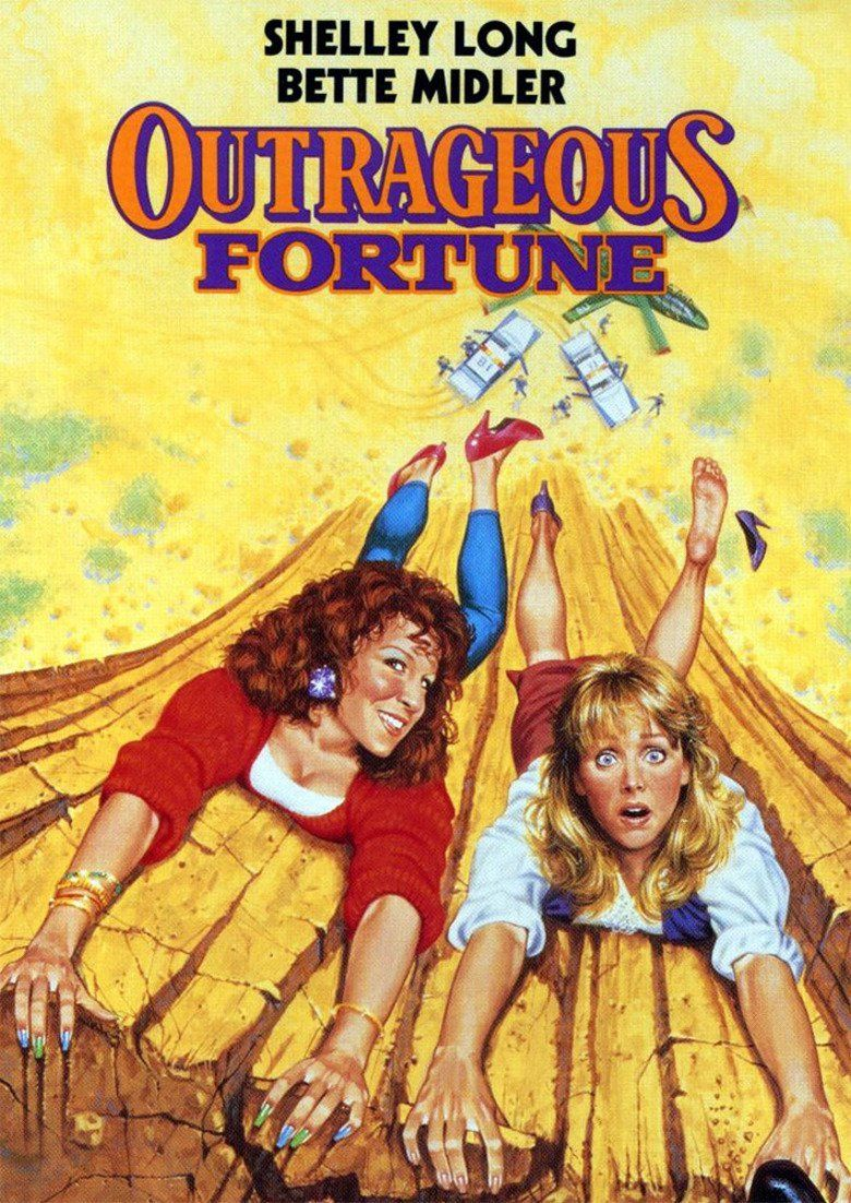 Outrageous Fortune (film) movie poster
