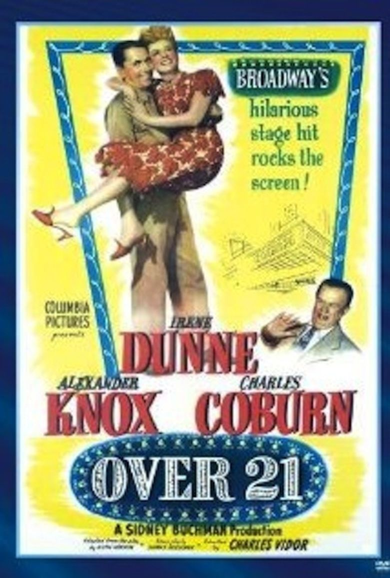 Over 21 movie poster
